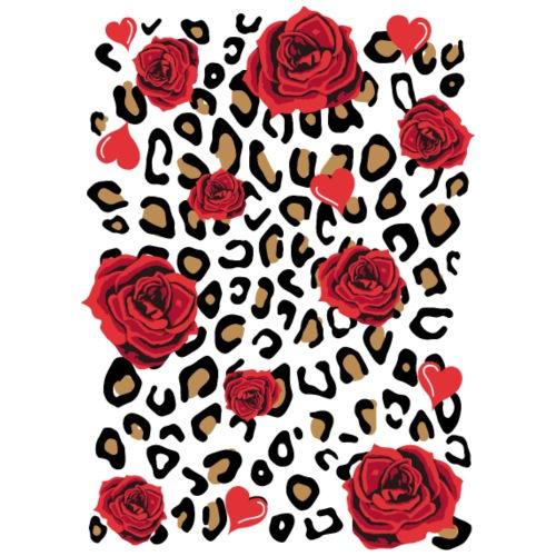 Red roses - Drawstring Bag