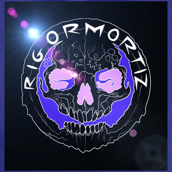 Rigormortiz Logo with Light