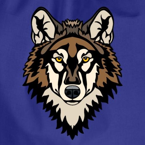 Timber Wolf - Drawstring Bag