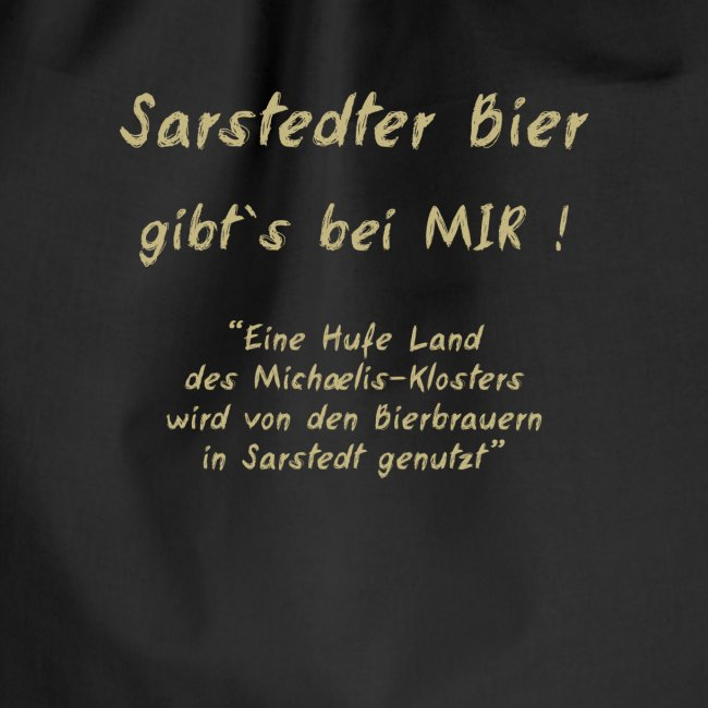 Shirt-Sarstedter Bier