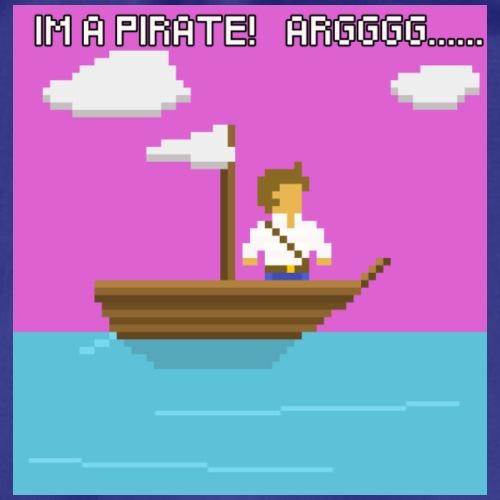Im a Pirate - Sportstaske