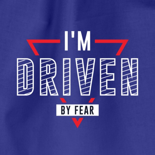 I'm driven by fear - Turnbeutel