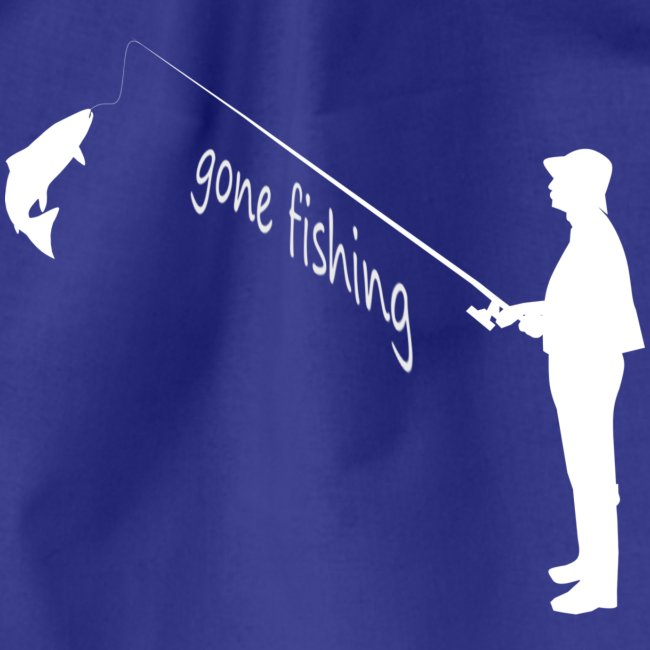Angler gone fishing