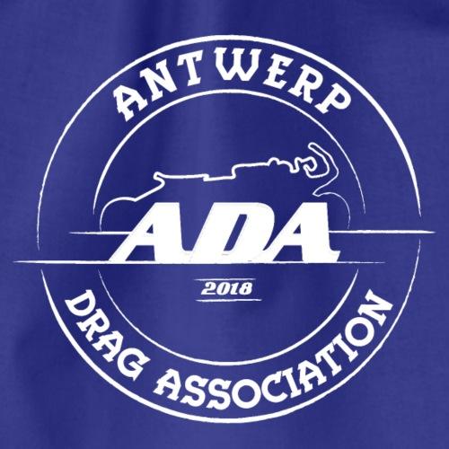 ADA DRAG Logo Groot Wit - Gymtas