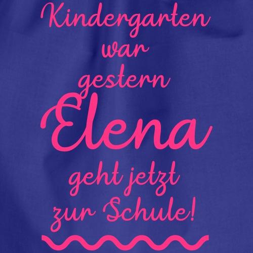 Kindergarten war gestern (Elena) - Turnbeutel