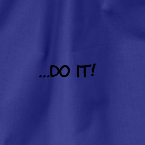 ...do it - Turnbeutel