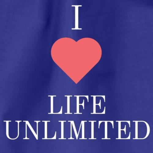 I Love Life Unlimited - Sac de sport léger