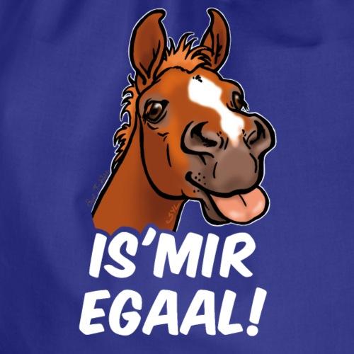 Fohlen Is Mir Egaal! (weisser Text) - Sac de sport léger