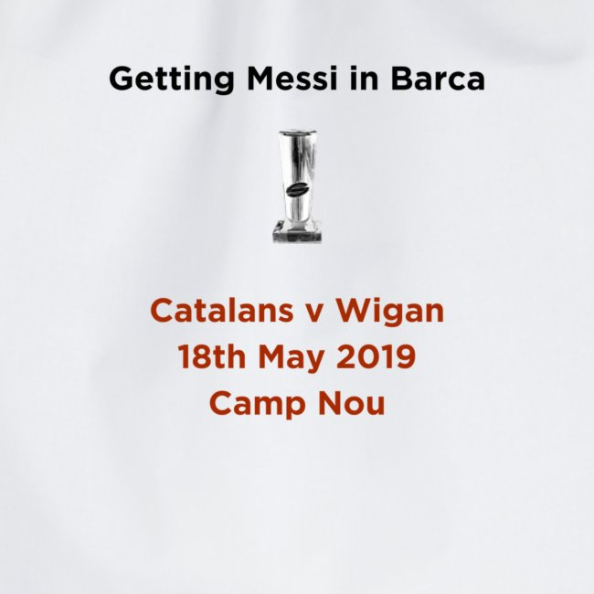 Getting Messi in Barca Super League Champions on T
