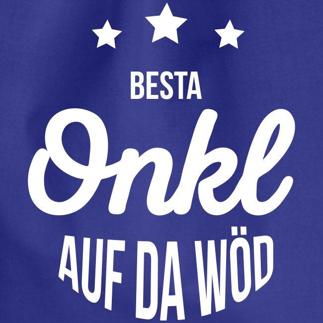 Vorschau: Besta Onkl auf da Wöd - Turnbeutel