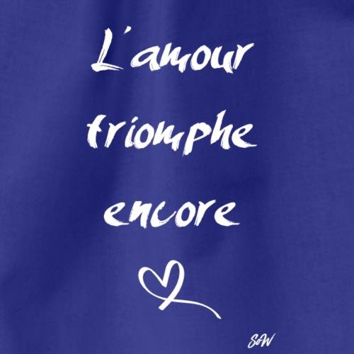 L'amour triomphe encore (blanc) - Sac de sport léger