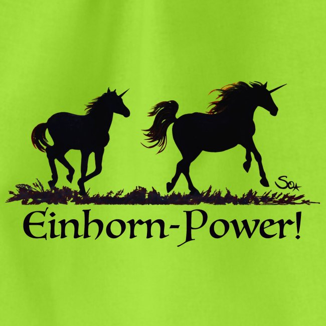 Einhorn-Power