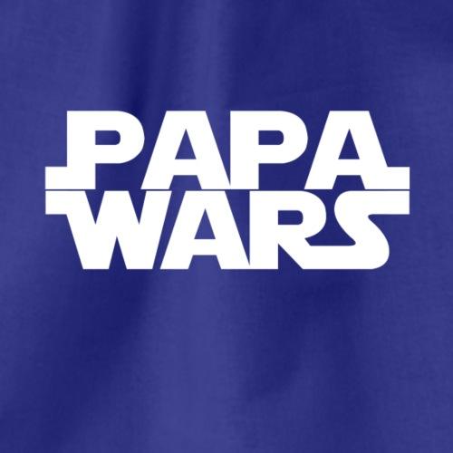 Papa wars - weiß - Turnbeutel