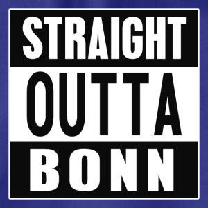 Straight outta Bonn - Drawstring Bag