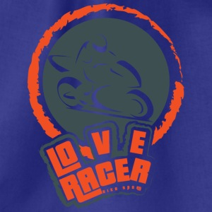 LOVE RACER BIKE SPORTS - Gymbag