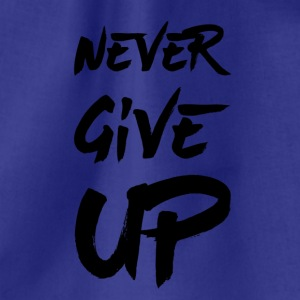 Never Give Up - Sacca sportiva