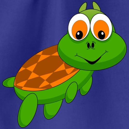 lachende Schildkröte - Turnbeutel