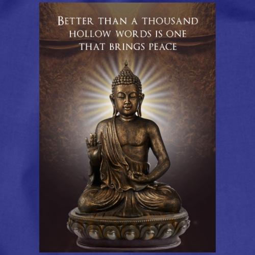 Buddha Wisdom - Drawstring Bag