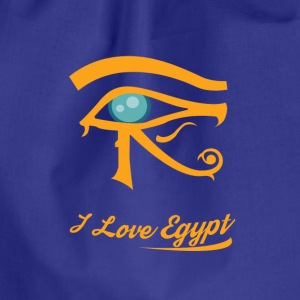 i love Egypt - Drawstring Bag