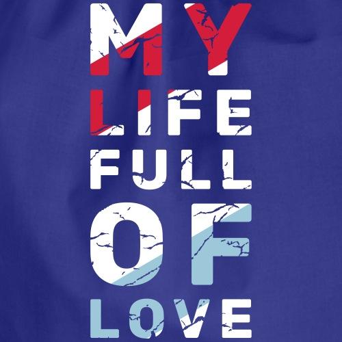 My Life Full Of Love - Worek gimnastyczny