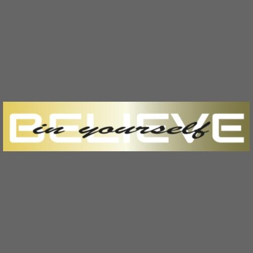 believe in yourself 3 - Turnbeutel