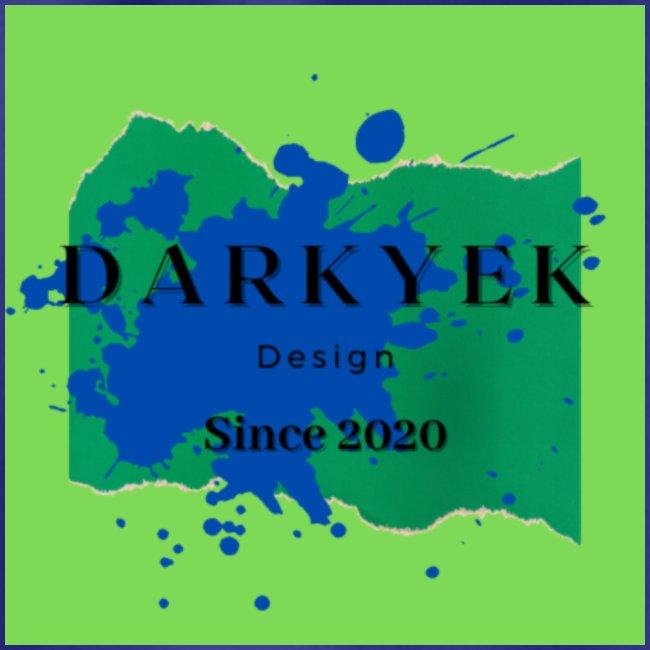 darkyek design green