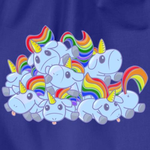 Moar unicorns! - Sacca sportiva