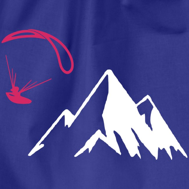 Libert'All parapente montagne fushia