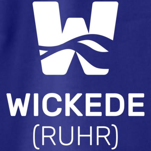 Wickede Logo weiss - Turnbeutel