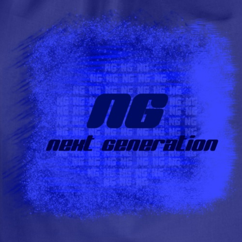 The blue bags