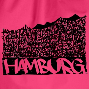 Hamburg Music Hall - Black - Drawstring Bag