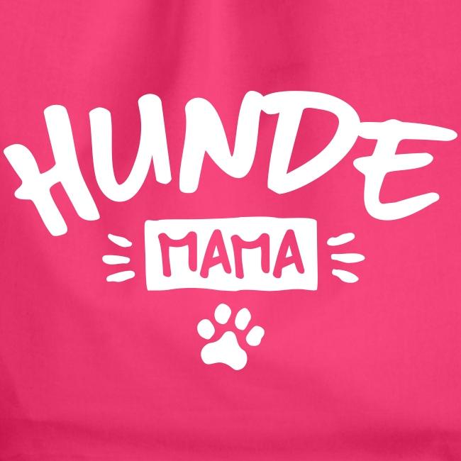 Vorschau: Hunde Mama - Turnbeutel