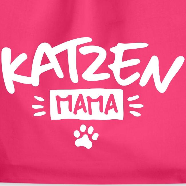 Vorschau: Katzen Mama - Turnbeutel