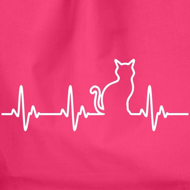 Vorschau: Ein Herz für Katzen - Turnbeutel
