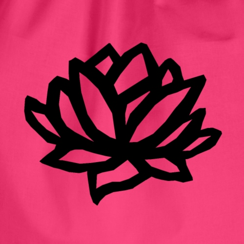 Lotus black - Turnbeutel