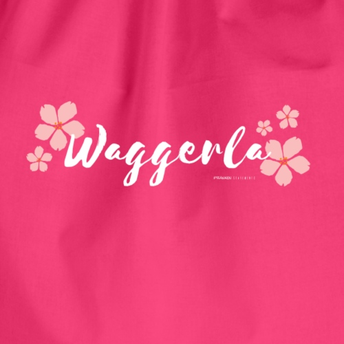 Waggerla Girl - Franken Statements - Turnbeutel