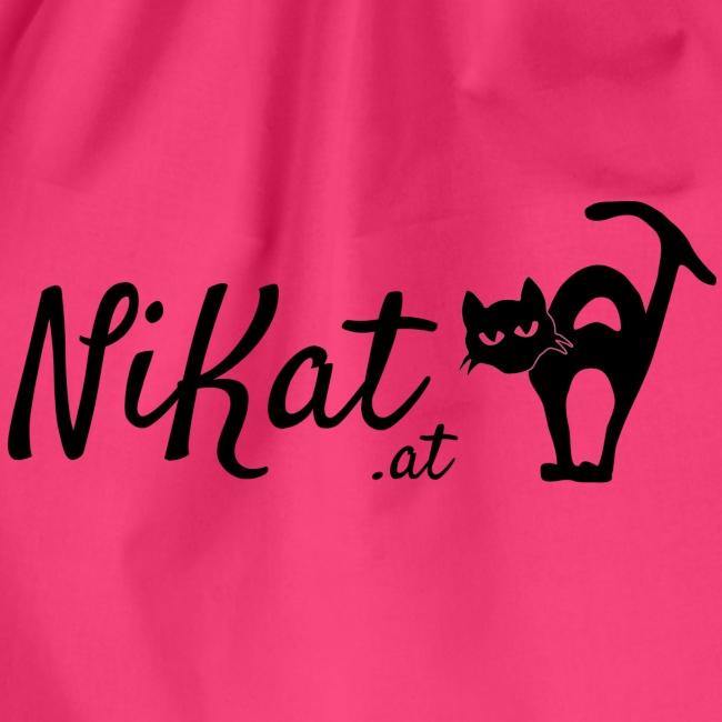 Nikat logo schwarz