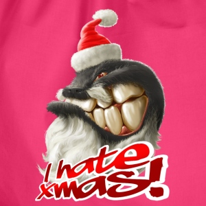 I hate Xmas - Turnbeutel