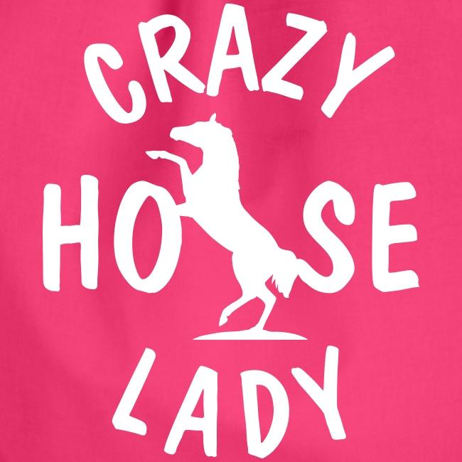 Vorschau: crazy horse lady - Turnbeutel