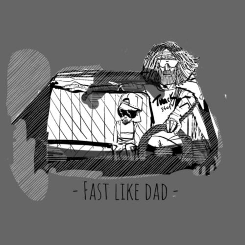 Fast like dad - Sportstaske