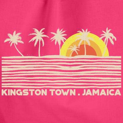 Kingston Town. Jamaica (Light Label) - Turnbeutel