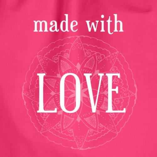 Made with Love - für alles durch Liebe entstandene - Turnbeutel