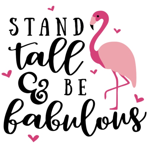 Stand tall and be fabulous - Gymtas
