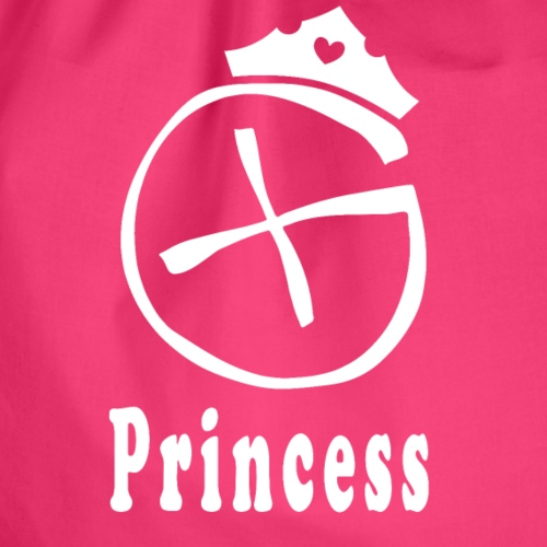 Geocaching Princess - Turnbeutel