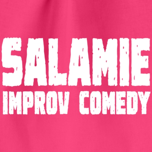 Salamie Improv Comedy tekst (wit) - Gymtas