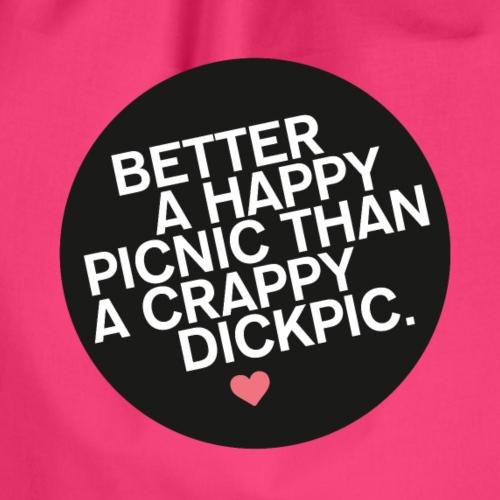 PICNIC vs DICKPIC - Turnbeutel