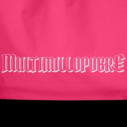 Multimillopobre - Mochila saco