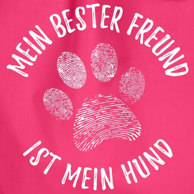 Vorschau: Mein Hund Bester Feund - Turnbeutel