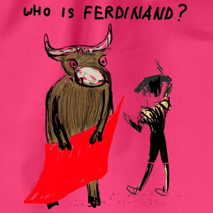 WHO is Ferdinand - Gymnastikpåse