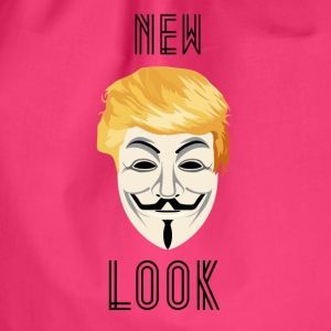 New Look Transparent / Anonym Trump - Gymbag